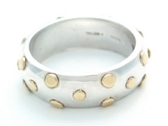 Suarti Silver Dots Ring